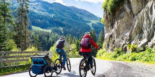 Detské cyklovozíky - sdieťaťom na cyklistickom výlete