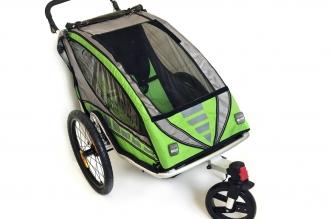 Detským sedačkám na bicykle odzvonilo. Vsaďte na cyklovozík!