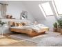 Manželské postele zmasívu do spálne